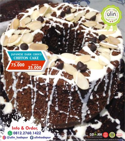 09-2017 Japanese Dark Choco Chiffon Cake