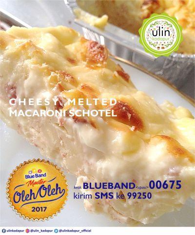 Cheesy Melted Macaroni Schotel 2017