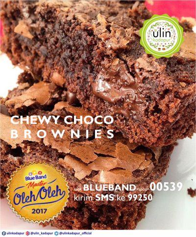 Chewy Choco Brownies 2017