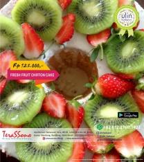 019 - Chiffon Cake Fresh Fruit