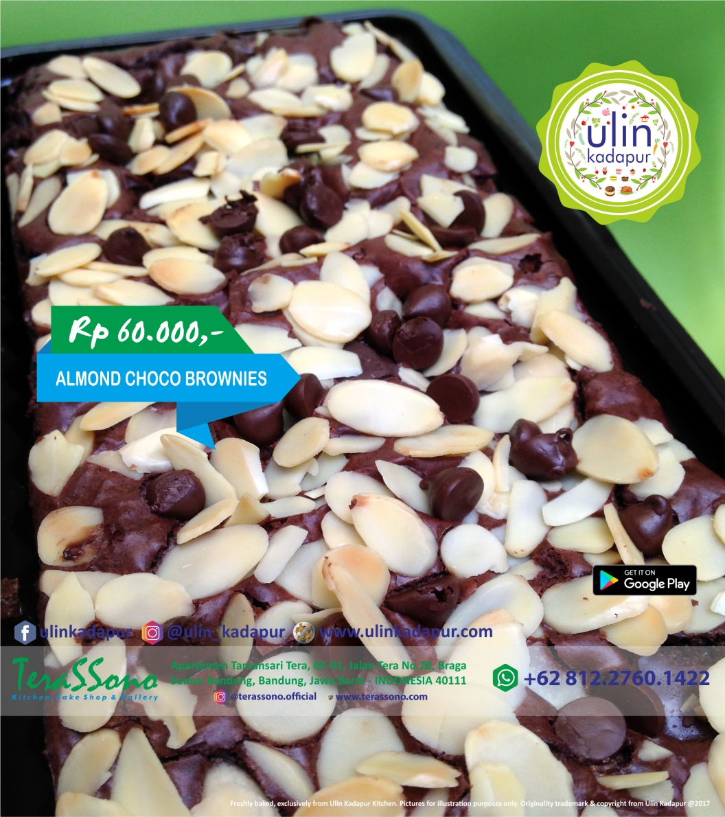Brownies - Almond Choco