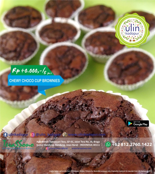Brownies - Chewy Choco Cup