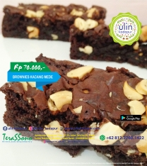 Brownies - Kacang Mede