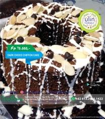 Chiffon Cake - Dark Choco