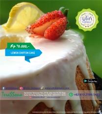 Chiffon Cake - Lemon