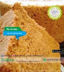 Chiffon Cake - Thai Tea