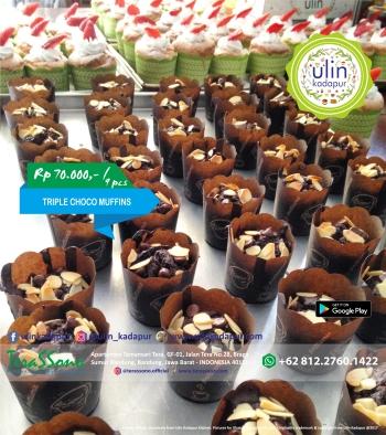 Muffins - Triple Choco